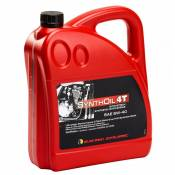 Huile moteur Racing Dynamic SYNTHOIL- 5W40 - 100% Synthétique 4 LITRES