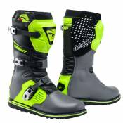 Bottes cross Kenny TRIAL UP - BLACK GREY NEON YELLOW 2020