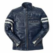 Blouson cuir Ride And Sons MAGNIFICENT Buffalo Skin Forest vert - XL