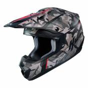Casque cross Hjc CS MX II - SAPIR - GREY RED 2020