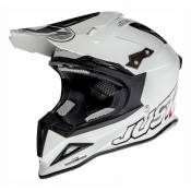 Casque cross Just1 J12 Solid blanc - XS