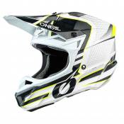Casque cross O'Neal 5 SERIES - SLEEK - WHITE GRAY GLOSSY 2021