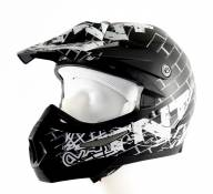 Casque cross TNT helmets street - XS