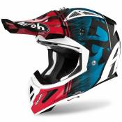 Airoh Aviator Ace Kybon L Blue / Red Gloss