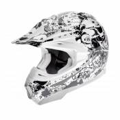Casque cross TNT helmets dead head- L