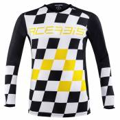 Maillot cross Acerbis LTD START & FINISH BLACK YELLOW 2020