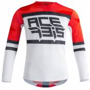 Maillot cross Acerbis VENTED HELIOS RED WHITE 2021