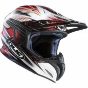 Casque cross HJC RPHA X SILVERBOLT MC1 Blanc/Noir/Rouge- XS