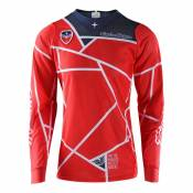 Maillot cross TroyLee design SE AIR METRIC RED 2020