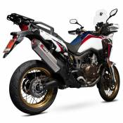 Scorpion Serket Parallel Slip On Titanium Crf1000l Africa Twin 15-19 One Size Natural