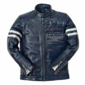 Blouson cuir Ride And Sons MAGNIFICENT Buffalo Skin Forest vert- S