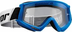 Masque cross Thor Combat bleu/blanc