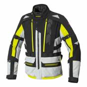 Veste textile Spidi Allroad H2Out jaune fluo/noir/Ice- 4XL