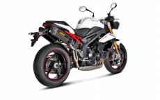 Silencieux Akrapovic Carbone Triumph Speed Triple 1050 11-15 (la paire