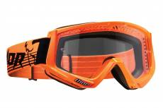 Masque cross Thor CONQUER orange fluo/noir