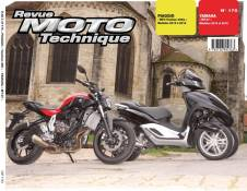 Revue Moto Technique 175 Piaggio Yourban MP3 12-14 / Yamaha MT-07 14-1