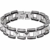 Spirit Motors Stainless Steel Bracelet 3 0 One Size Silver