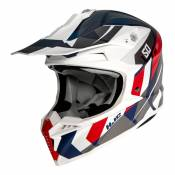 Casque cross HJC I50 Vanish MC21SF gris/bleu/rouge/blanc- L