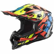 Ls2 Mx700 Subverter Evo Rascal XXXL Gloss Black / Fluo Orange