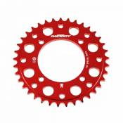 Couronne alu YCF Factory Special Parts 37 dents rouge