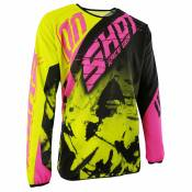 Maillot cross Shot destockage DEVO SQUAD LIME NEON ROSE 2017