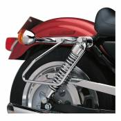 Supports de sacoches latérales Harley Davidson Sportster 94-03 chrome