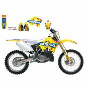 Kit déco Blackbird Racing Réplica Suzuki World MXGP 2017 Suzuki 125 RM