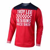 Maillot cross Troy Lee Designs GP Air Raceshop rouge- 2XL