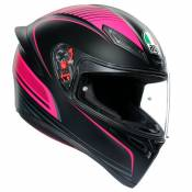 Casque AGV K-1 - WARMUP - BLACK PINK