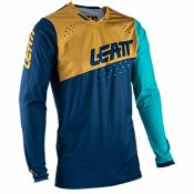 Maillot cross Leatt 4.5 LITE - BLUE GOLD 2021