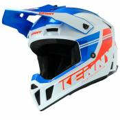 Casque cross Kenny PERFORMANCE PRF - GRAPHIC - BLUE WHITE RED 2021