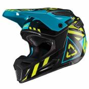 Casque cross Leatt GPX 5.5 V19.1 NOIR/LIME 2019