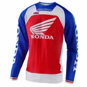 Maillot cross TroyLee design SE PRO AIR - BOLDOR HONDA - BLUE RED 2020