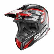 Casque cross Shark Varial Réplica Tixier noir/glitter red- XS