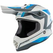 Casque cross Acerbis STEEL BLUE GREY ENFANT