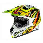 Casque cross Scorpion VX-20 AIR SYM Jaune fluo- S