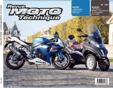 Revue Moto Technique 167 Piaggio MP3 500LT 11-12 / Suzuki GSX-R 1000 0