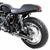 Support de plaque déportée British Customs pour Triumph Bonneville T10