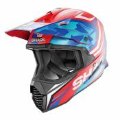 Casque cross Shark VARIAL - REPLICA TIXIER MAT - RWB 2020