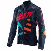 Veste enduro Leatt GPX 4.5 X-FLOW - ORANGE 2020