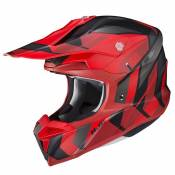 Casque cross Hjc I50 - VANISH - BLACK RED MC1SF 2021