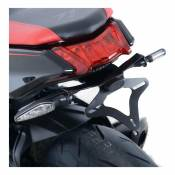 Support de plaque d'immatriculation R&G Racing noir Suzuki GSX 1000