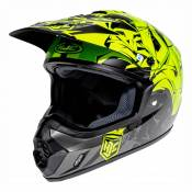 Casque cross HJC CS-MX II GRAFFED MC4HSF - M