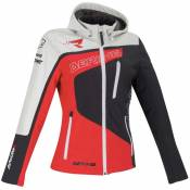 Bering Softshell Racing 5 Grey / Red / White
