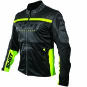 Veste enduro Shot SOFTSHELL LITE - BLACK NEON YELLOW 2021