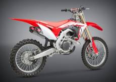 Ligne inox Yoshimura + double silencieux RS-9T inox embout carbone Hon