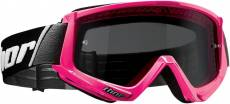 Masque cross Thor Combat Sand rose fluo