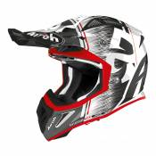 Casque cross Airoh Aviator Ace Kybon rouge brillant - S