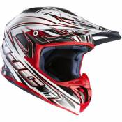 Casque cross HJC RPHA X AIRAID MC1 Blanc/Noir/Orange- S
