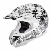 Casque cross TNT helmets dead head - L